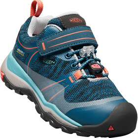 Keen Terradora WP Shoes Children aqua sea/coral